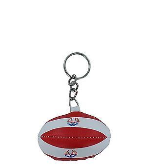 Porta chiavi RUGBY Bandiera POLYNESIEN POLYNESIEN TAHITI mini palloncino