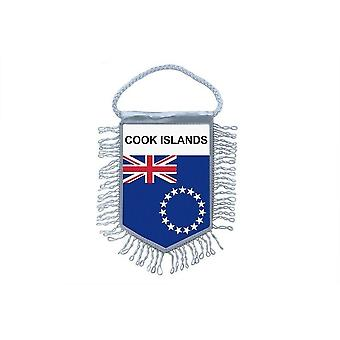 Flag Mini Flag Country Car Decoration Cook Islands