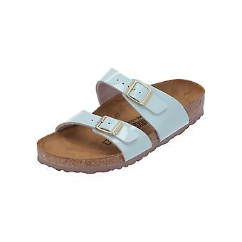 Birkenstock Sydney sandalias de mujer verde nuevos zapatos de verano Flip-Flops