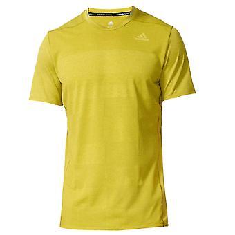 adidas Supernova Mens Running Fitness T-Shirt Shirt Tee Green