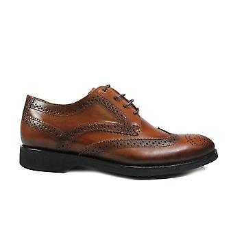 Anatomic Domingos Bronze Brown Leather Mens Lace Up Brogue Shoes