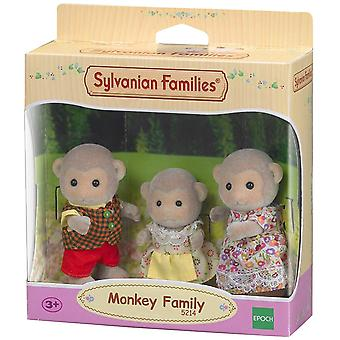 Familles Sylvaniennes - Monkey Family 3 Figure Set