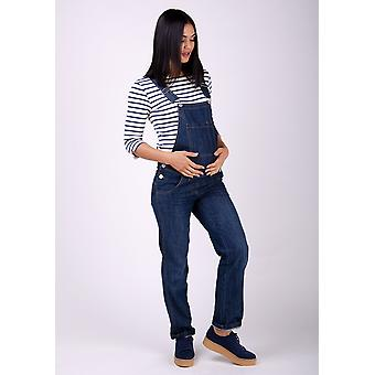 Ivy denim maternità salopette