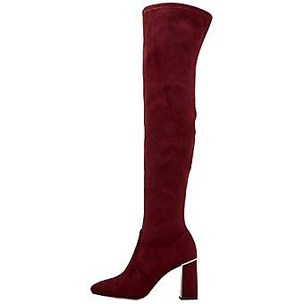 BCBGeneration Womens Aliana Fabric Closed Toe Over Knee Fashion Boots