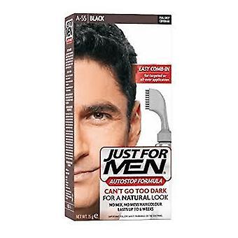 Just For Men 3 X Just For Men AutoStop Hair Colour - A55 Black