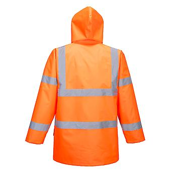 sUw - Hi-Vis Safety Workwear Essential 5-in-1 Chaqueta - Naranja - Medio