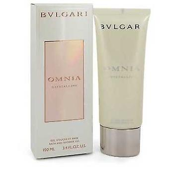 Omnia Crystalline By Bvlgari Shower Gel 3.4 Oz (women) V728-548138