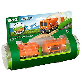 BRIO World-tunnel & Cargo trein