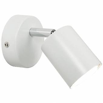 Indoor Cylinder Wall Spotlight White