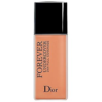 Christian Dior Diorskin Forever Undercover 24H Wear Full Coverage Foundation 045 Hazel Beige 1.3oz / 40ml