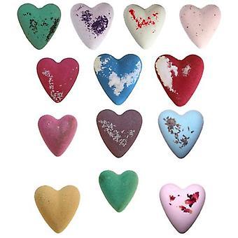Heart megafizz bath bomb's | great gift | bath fizz