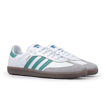 Adidas Originals Samba White & Green Trainers