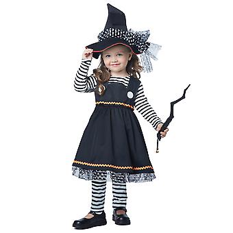 Crafty Little Witch Storybook Wicked Sorceress Book Week Toddler Girls Costume