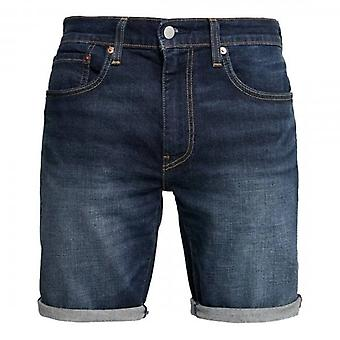 Levi's 502 Mid Blue Taper Shorts Saturn 32792 0039