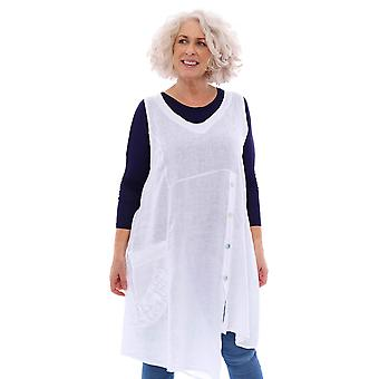 Made In Italy St Just Linen Tunic