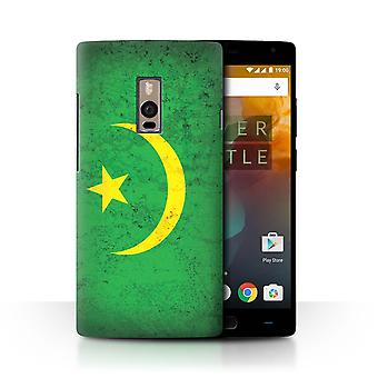 STUFF4 Case/Cover for OnePlus 2/Two/Mauritania/Mauritanian/African Flag