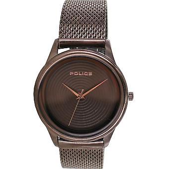 Orologio da uomo della polizia Wristwatch Invitossivo Acciaio AnalogO PL15524JSBN.12MM