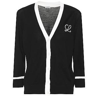 Loewe S3299460mc1100 Mujeres's Black Wool Cardigan