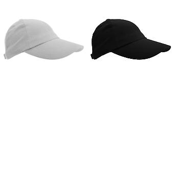 Result Unisex Heavy Cotton Premium Pro-Style Baseball Cap (Pack of 2)