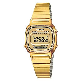 Casio Collection kvinder forgyldt digital Watch (Model nr. LA670WEGA-9EF)