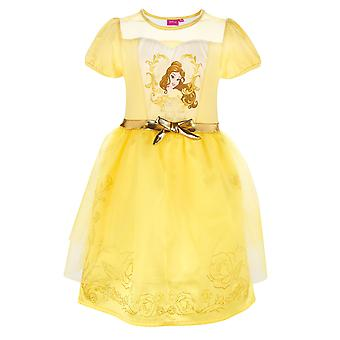 Disney princess girls fancy dress yellow
