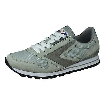 Brooks Chariot Womens Vintage Trainers / Sneakers - Grey
