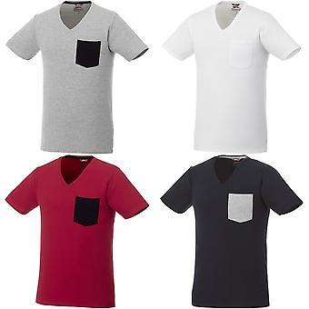 Slazenger Mens Gully Short Sleeve Pocket T-Shirt