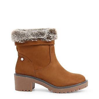 Xti Original Women Fall/Winter Enkellaarsje - Bruine kleur 37297