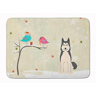 Christmas Presents between Friends West Siberian Laika Spitz Machine Washable Me