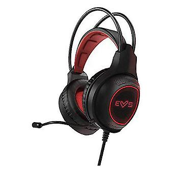 Gaming headset with microphone energy sistem hesg-2 3.5 mm led black