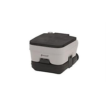 Outwell grey 10L portable camping toilet