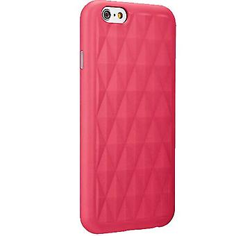 5 Pack -Milk and Honey Geometric Pattern Case for Apple iPhone 6/6s - Pink