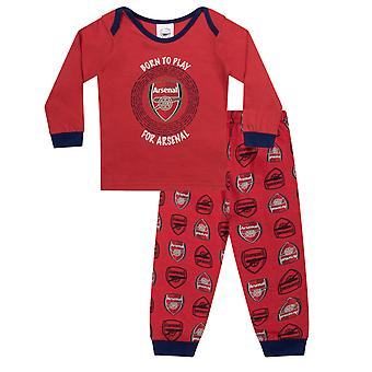 Arsenal FC Official Football Gift Boys Kids Baby Piżamy