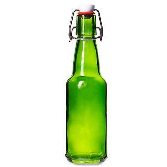 11 oz Green Grolsch Bottle