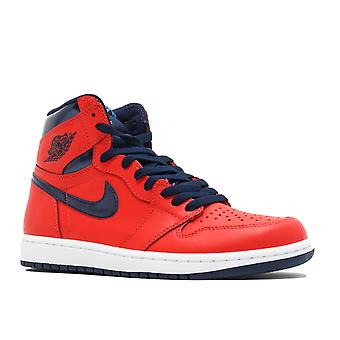 Air Jordan 1 Retro High Og 'David Letterman' - 555088 - 606 - Schuhe