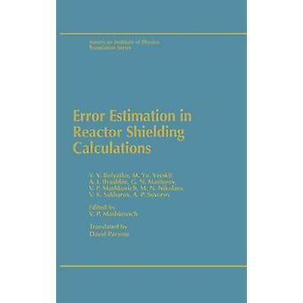 Fehlerschätzung in Reaktorabschirmungsberechnungen von Mashkovich & V.P.