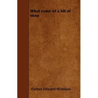 What came of a bit of soap by Winslow & Forbes Edward