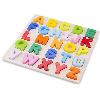 Puzzel New Classic Toys alfabet 30x30 cm