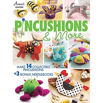 Pincushions amp More  17 Fun Filled Projects by Annie s Quilting