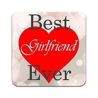 2 ST Best Girlfriend Ever Coasters