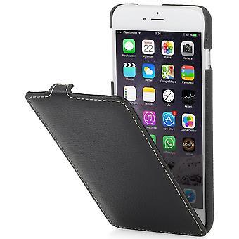 Case For iPhone 6 Plus / 6s Plus Ultraslim In True Black Leather