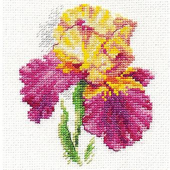 Kit Alisa Cross Stitch - Íris