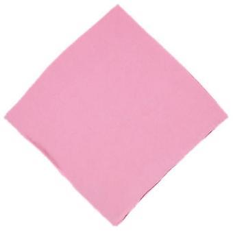 Michelsons of London Plain Silk Handkerchief - Pink
