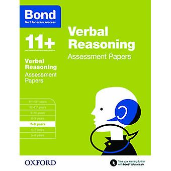 Bond 11 Verbal Reasoning Assessment Papers by Bond & JMBond 11