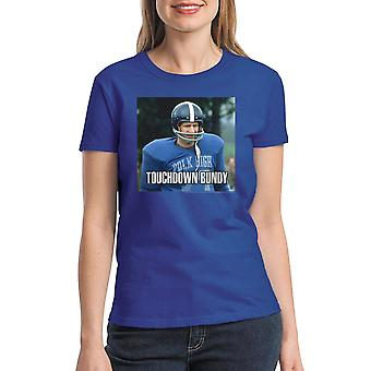 Married With Children Touchdown Bundy Women's Royal Blue T-shirt