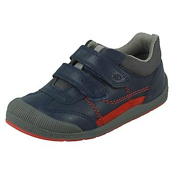 Boys Startrite Bug Detailed Hook and Loop Shoes Tickle