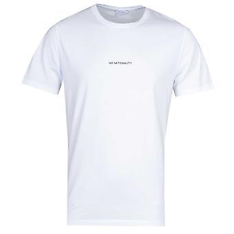 NN07 Ethan 3208 No Nationality Print White T-Shirt
