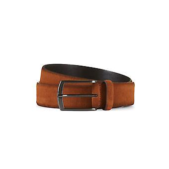 Suede leather belt zack brown