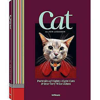 Cat - Portraits of Eighty-Eight Cats & One Very Wise Zebra by  -Te