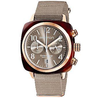 Briston Clubmaster Classic Quartz Chronograph Mens Watch 19140.PRA.T.30.NT
